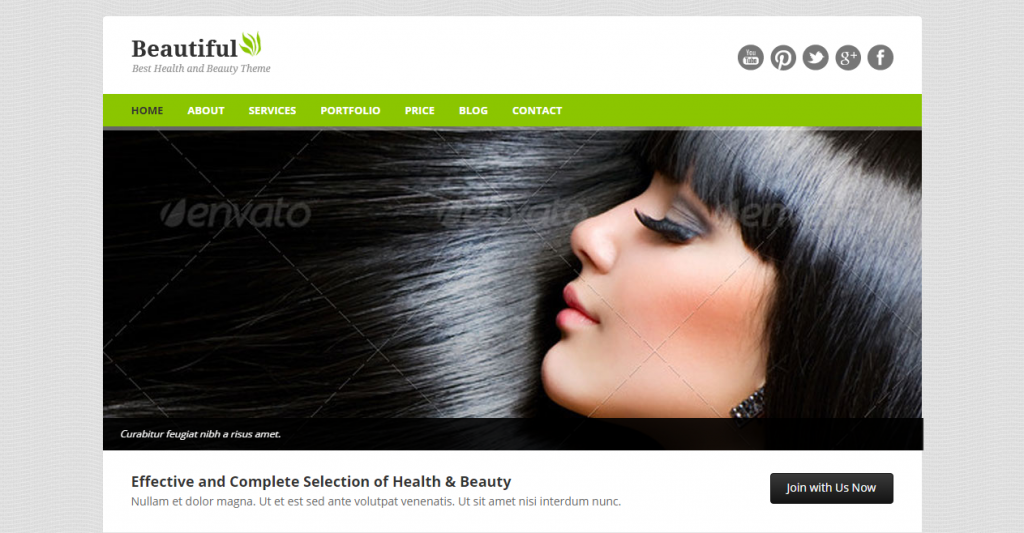 Beautiful Responsive Beauty HTML Template