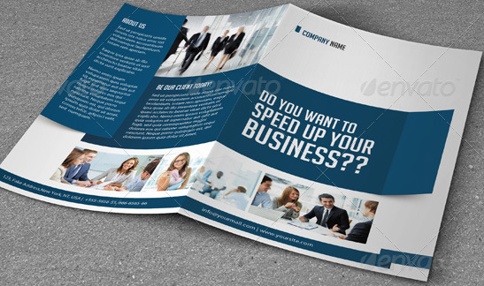 Bifold Brochure Business