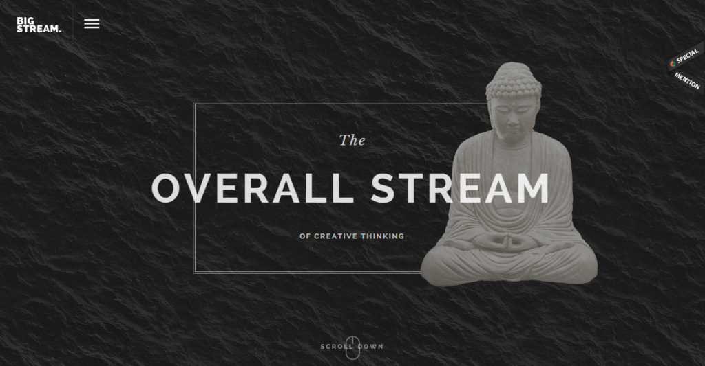 BigStream One Page Parallax Theme