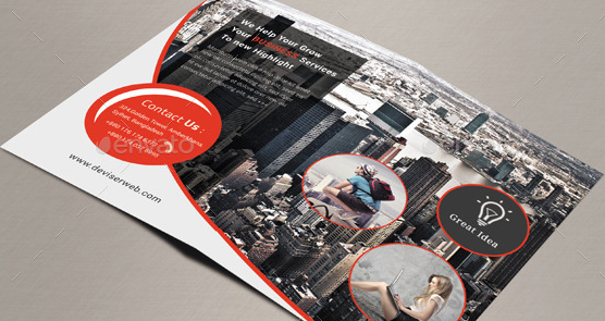 Business Agency Bifold Brochure
