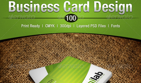 Business Card Design 100