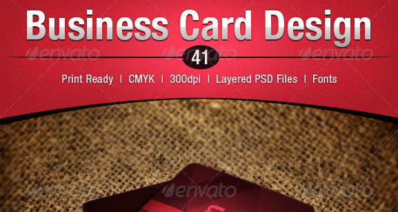 Business Card Design 41