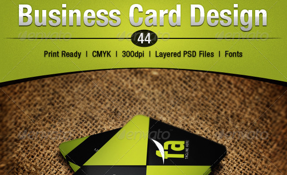 Business Card Design 44