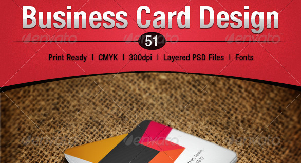 Business Card Design 51