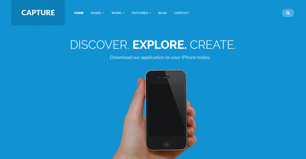 Capture Responsive Bootstrap HTML Theme