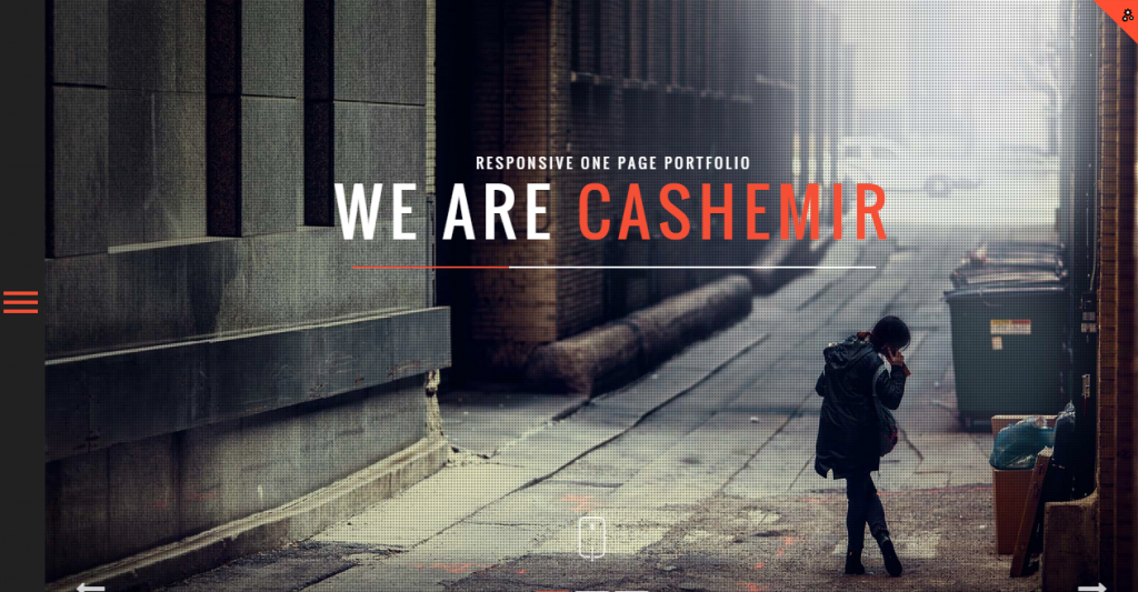 Cashemir Responsive One Page Template