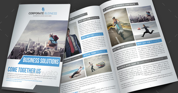 Corporate Business Brochure Psd Template 1