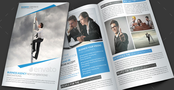 Business Brochure PSD Templates Weelii - Brochure photoshop template