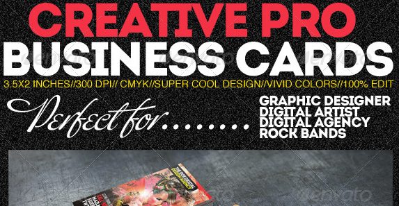 Creative Pro Designer Business Cards PSD Template