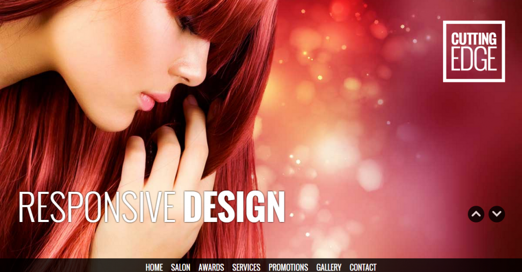 Cutting Edge Responsive Parallax Template