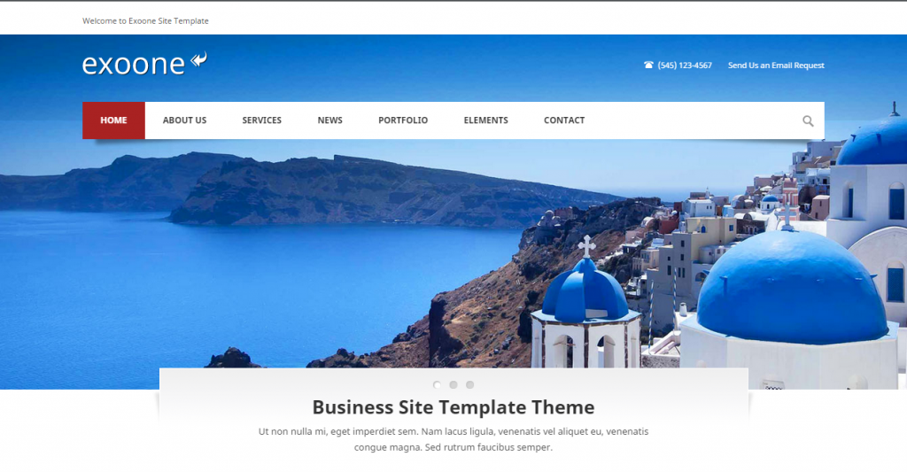 Exoone Corporate Business HTML Template
