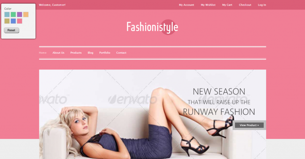 Fashionistyle Fashion eCommerce HTML Template