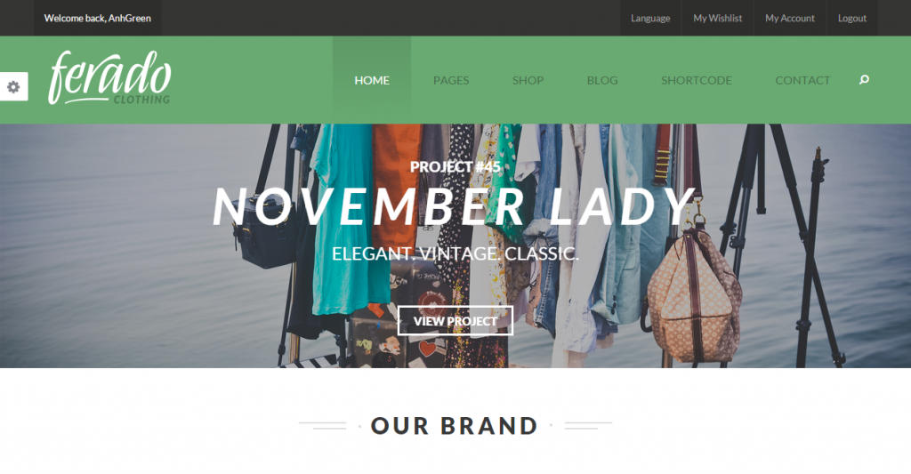 Ferado Fashion eCommerce HTML5 Template