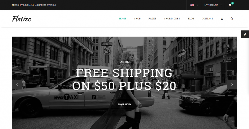 Flatize Fashion eCommerce HTML Template