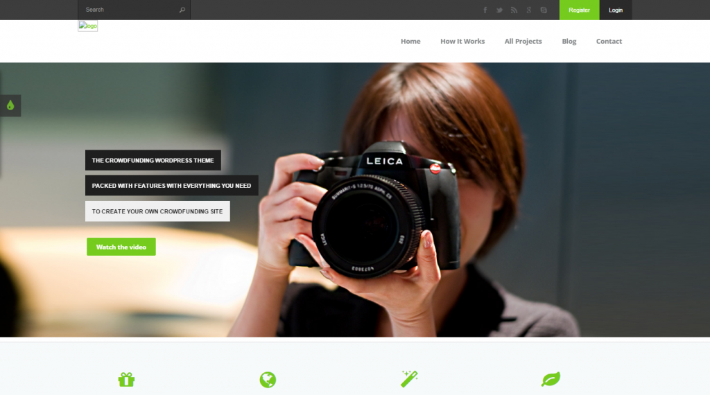Fundingpress The Crowdfunding WordPress Theme