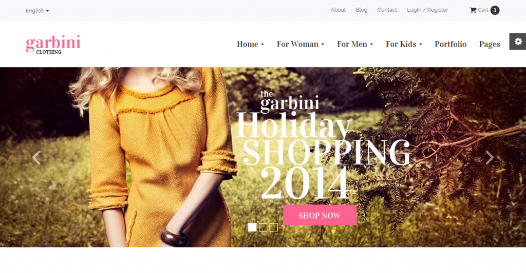 Garbini Multipurpose HTML5 eCommerce Template