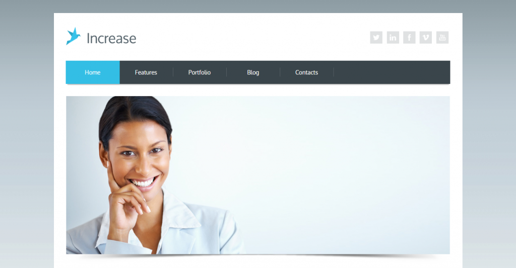 Increase Premium Corporate HTML5 Template