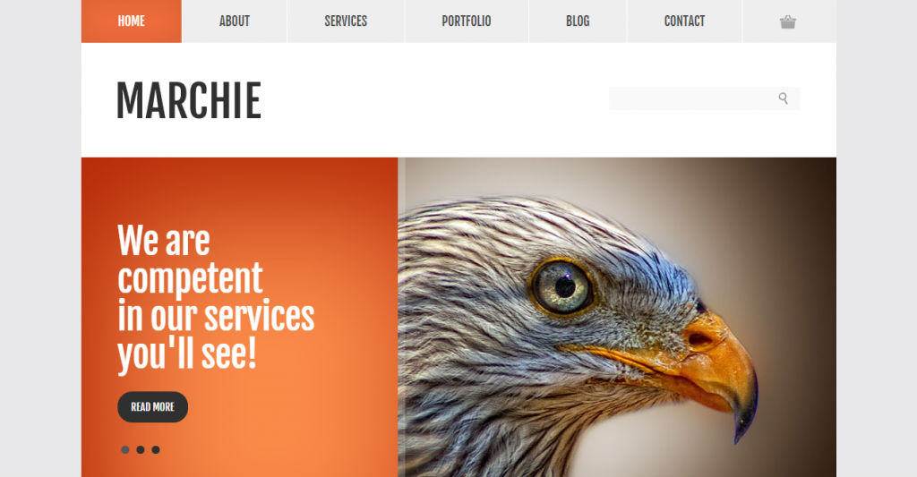 Marchie Corporate Business HTML Template