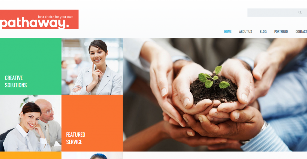 Pathaway Modern Business HTML Template