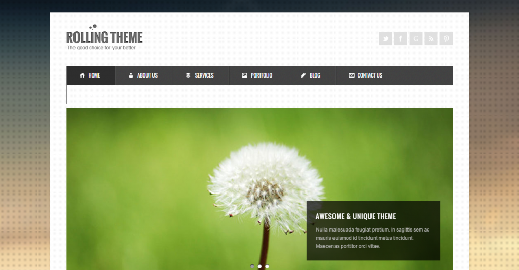 Rolling Clean Business HTML Template
