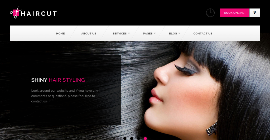 SPA and Beauty Salon HTML Templates