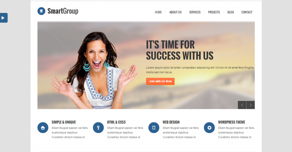 SmartGroup Responsive Business HTML Template