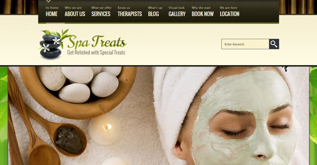 Spa Treats A Health Spa Salon HTML Template