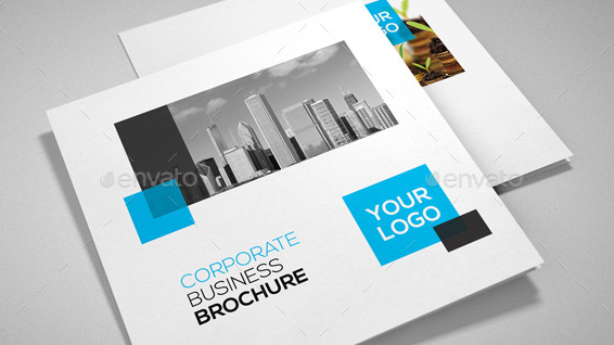Square Corporate Trifold Brochure1