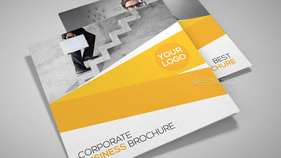 Square Corporate Trifold Brochure2