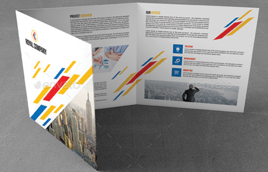 Square Corporate Trifold Brochure7