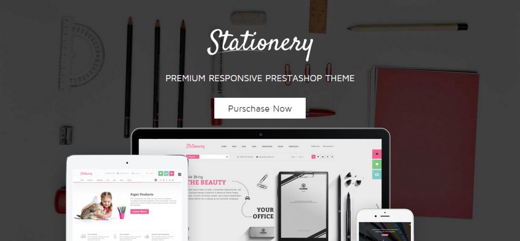 Stationery Premium Responsive Prestashop Theme