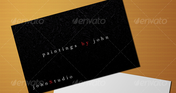 Studio Business Card PSD Template