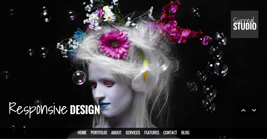 Surreal Responsive Parallax One Page HTML5