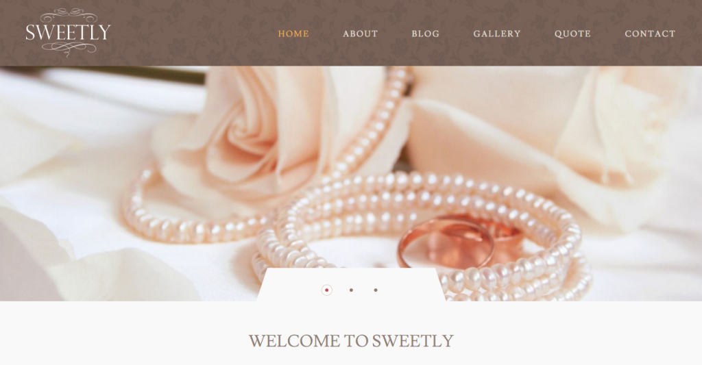 Sweetly Wedding HTML Template