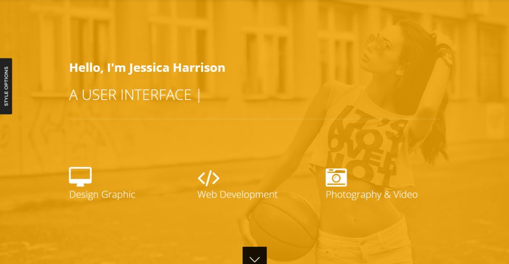 Trent Responsive One Page Parallax Template