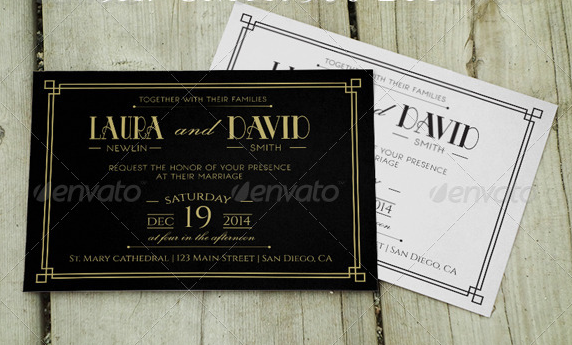 Wedding Invitation and RSVP