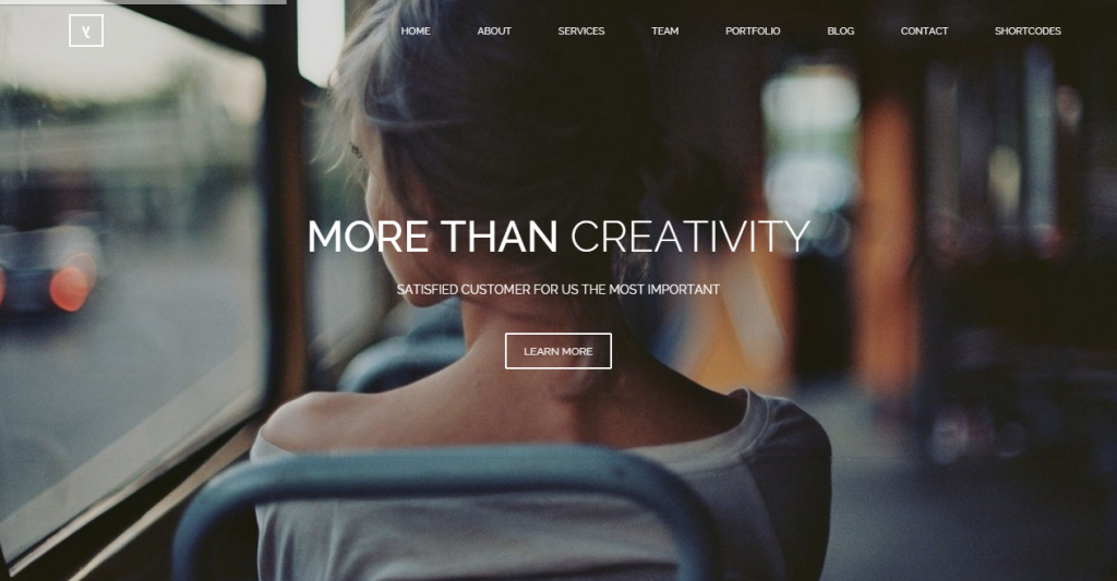 Yours Responsive Onepage Template