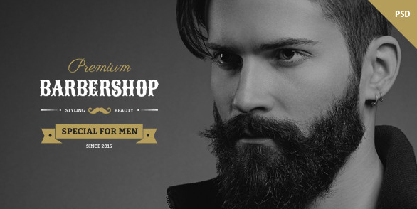 Barbershop One Page Multipurpose Barbers Theme