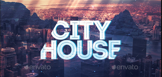 City House CD Cover Artwork Template