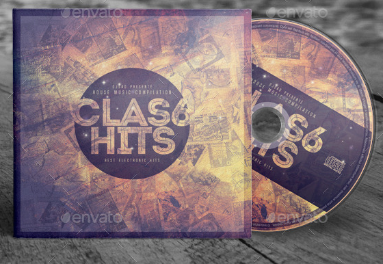 52 Cd Dvd Cover Psd Templates Weelii