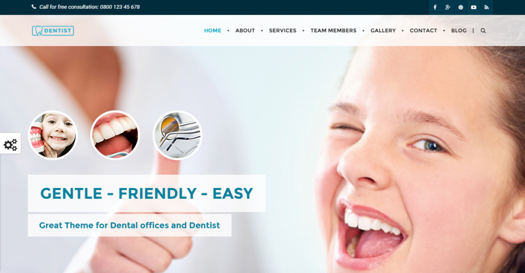 Dentist Dental & Medical One Page HTML Template