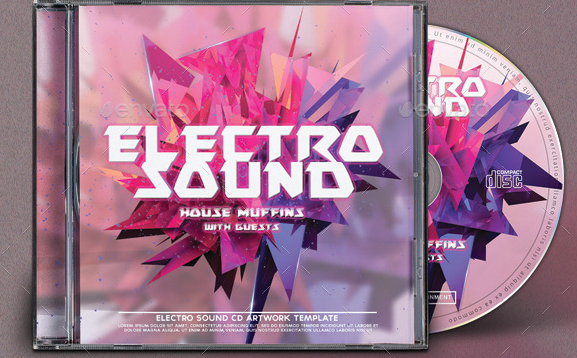 Electro Sound CD Artwork