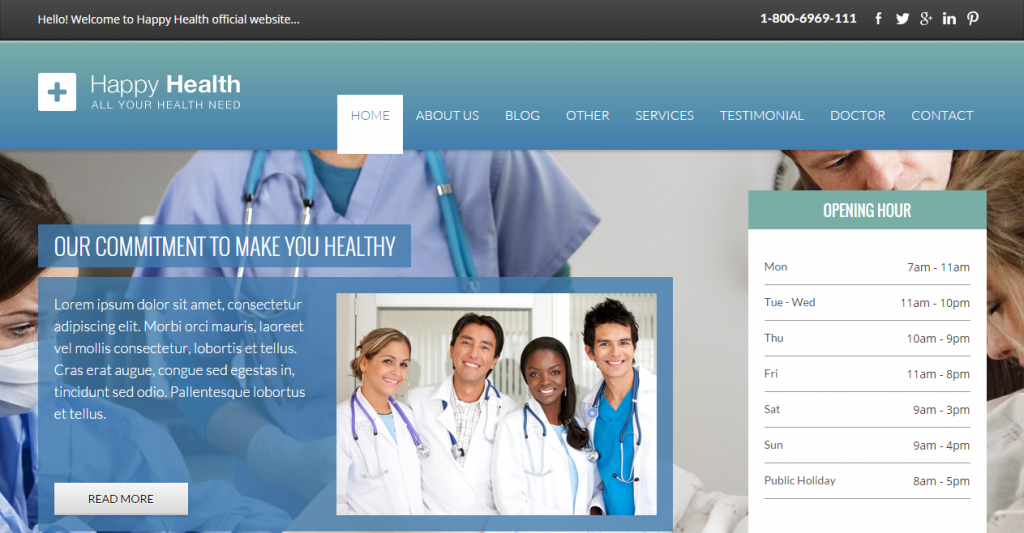 Happyhealth Parallax Hospital
