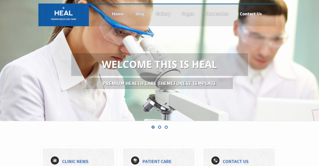 Heal Responsive Medical and Health HTML Template