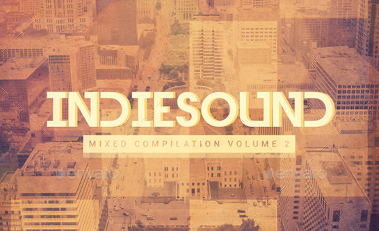 Indie Sound vol.2 CD Cover Artwork Template