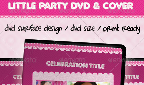 Little Party Dvd Cover Template