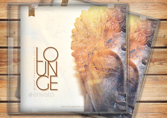 Lounge Music Compilation CD Cover Template