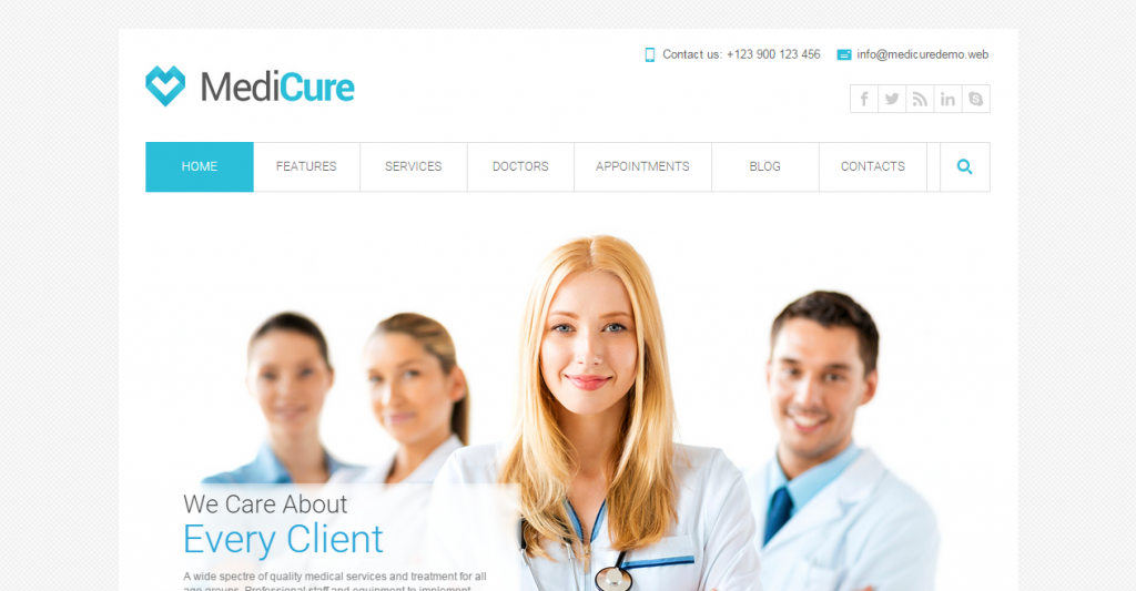 MediCure Health & Medical HTML5 Template
