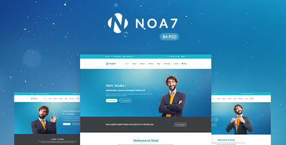 Noa7 Multi Purpose PSD Template
