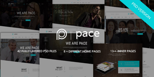 Pace Multi-Purpose Business PSD Template